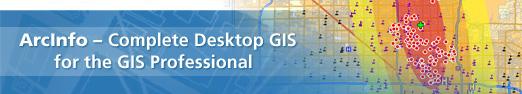 ArcInfo - das umfassende Desktop GIS für GIS Experten