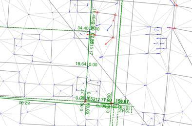 GIS mit Messwerten und Homogenisierung
