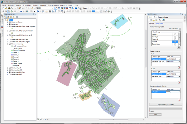 ArcGIS-Addin Systra for GIS